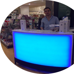 1.5m LED bar unit for hire