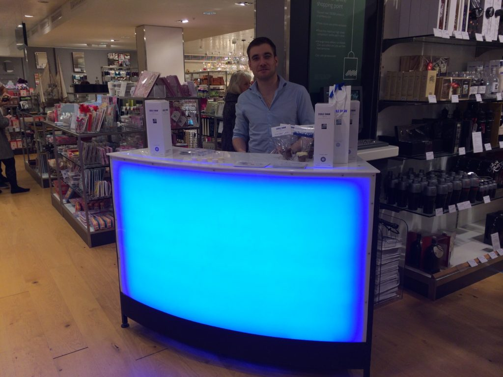 led mobile bar for brand activation