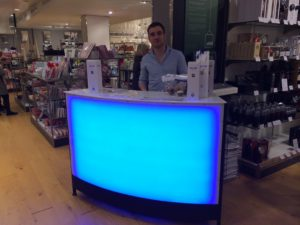led mobile bar for brand activation