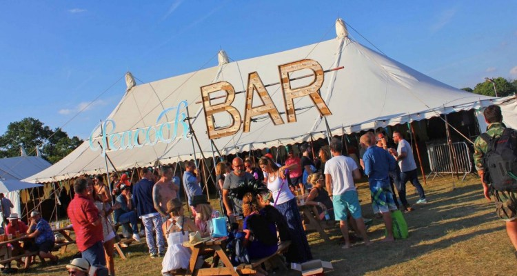 Hire Large Festival Bar