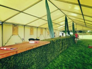 festival hedge bar hire