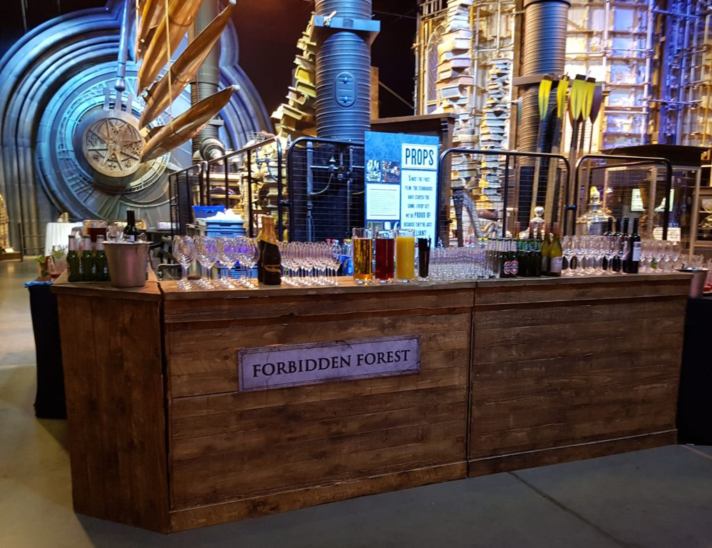Harry Potter themed mobile bar