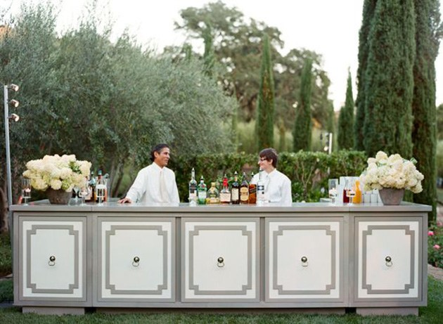 elegant mobile cocktail bar hire for weddings