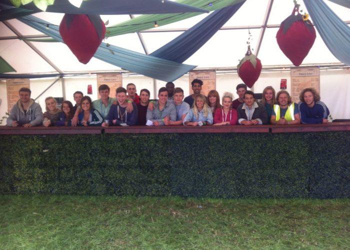 festival bar hire team