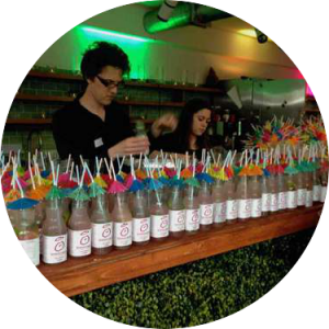 unique branded cocktails for events