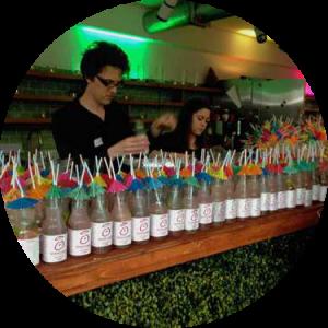 unique branded cocktails for events