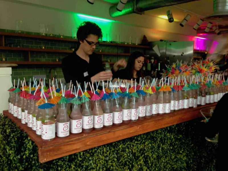 mixologists making innocent drinks cocktails