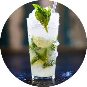 delicious mojito cocktail