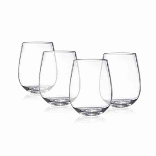premium glassware hire