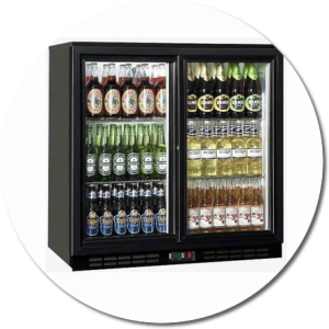 hire single bottle fridge