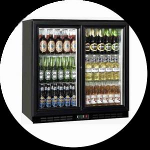 hire single bottle fridge