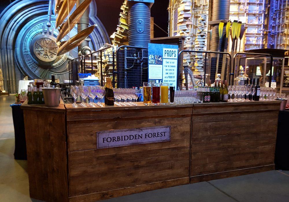 Harry Potter themed mobile bar